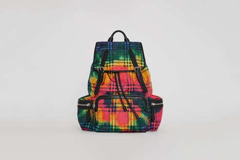 Luxe Tie-Dye Backpacks