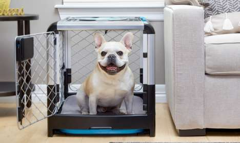 Collapsible Dog Crates - Diggs Designed the Revol with Simple Storage Solutions in Mind