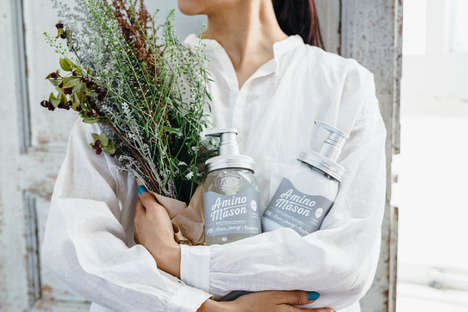 Botanical Haircare Jars
