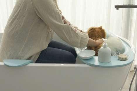 Canine-Friendly Bathtub Accessories
