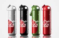 Metallic Canteen Soda Bottles