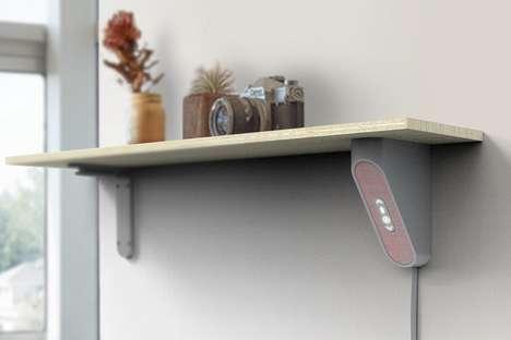 Discreet Shelf Underside Speakers