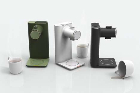 Automated Tea-Brewing Appliances - The 'Tea Machine' Optimally Brews Your Favorite Hot Drink