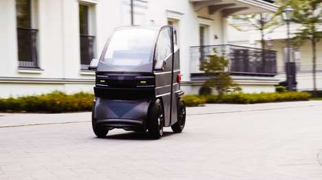 Shapeshifting Electric Vehicles - The 'iEV X' Changes its Size Depending on Your Needs