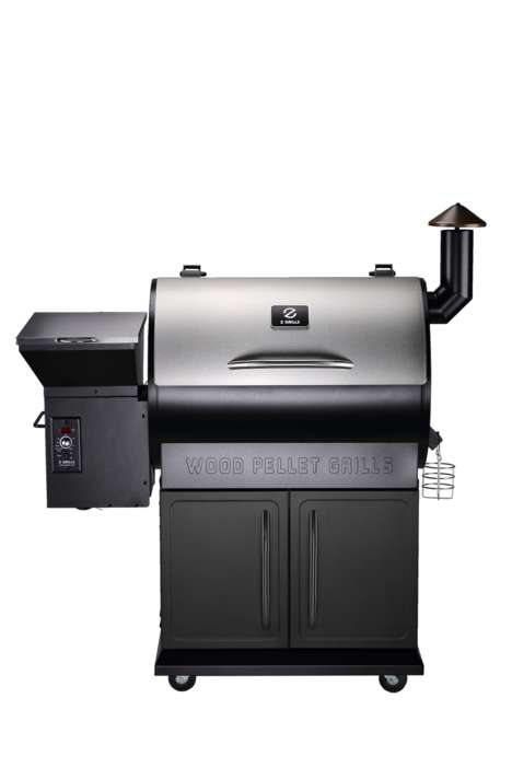 Luxe Wood Pellet Grills - Z Grills Offer Two High-End Barbeque Options for an Affordable Price