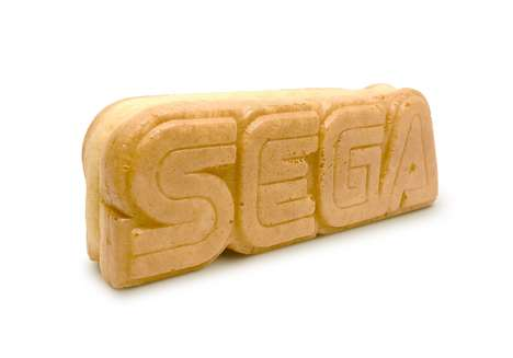 Logo-Shaped Street Snacks - SEGA Spent Months Developing a Vanilla-Flavored Edible Logo Cake