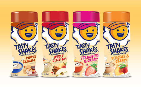 Low-Sugar Oatmeal Seasonings - Kernel Season's Now Offers 'Tasty Shakes' Oatmeal Toppings