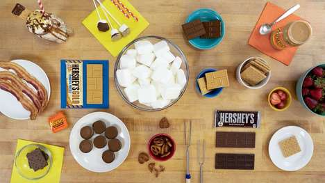 Delicious S'mores Recipes - Hershey's Celebrates National S'mores Day with a Selection of Recipes