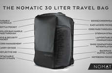 Sleek Multipurpose Travel Bags