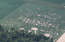 TV-Themed Corn Mazes