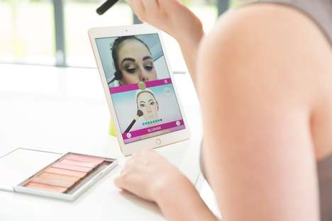 Gamified AR Makeup Apps - The 'Wow How' App Uses Gaming Tech to Teach Consumers Application Tricks