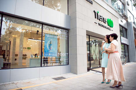 High-Tech Responsive Shops - The TIENS 'Experience Store' Encourages Consumer Interaction