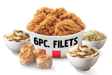 Boneless Fast Food Filets