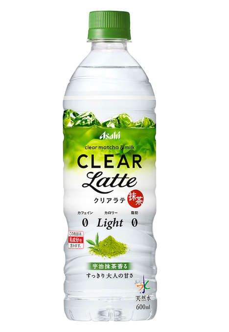 Clear Matcha Lattes - Asahi Transformed the Green Matcha Latte into a Bottled, Colorless Beverage