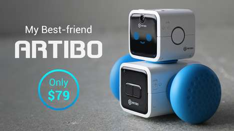 Friendly Affordable AI Robots - Artibo is Programmed by Cubroid to Provide Small Useful Services