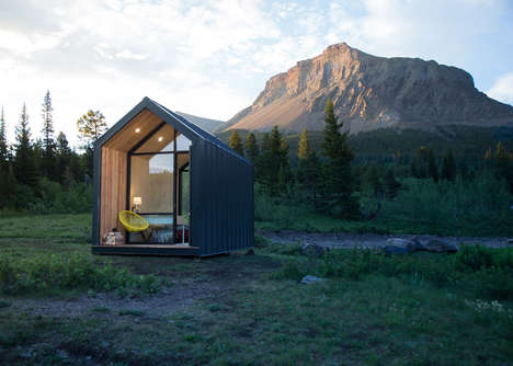 Contemporary Digital Nomad Cabins - The Mono Cabin Comes in Three Styles for Nomadic Living