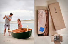 DIY Rowboat Kits - The Stitchbird Rowboat Kit Comes with All Essentials to Make a Vessel