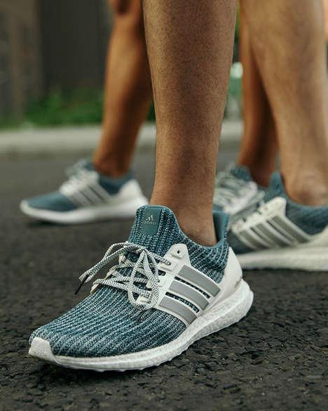 Flexible Reflective Running Shoes