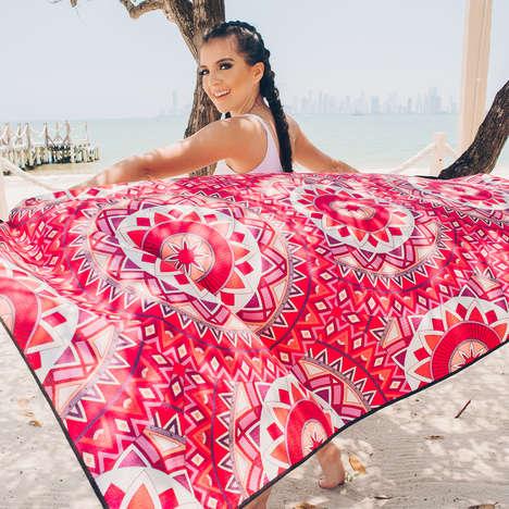 Sand Repellant Travel Towels
