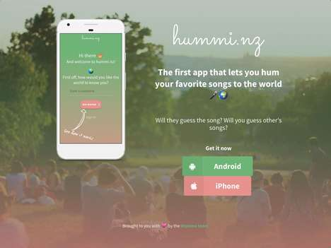 Song-Humming Game Apps - 'Hummi.nz' Lets Users Hum Their Favorite Tune for Others to Guess