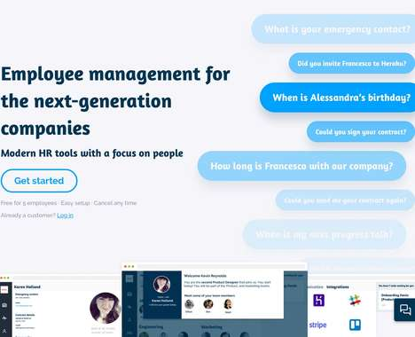 Trend maing image: Next-Generation HR Tools