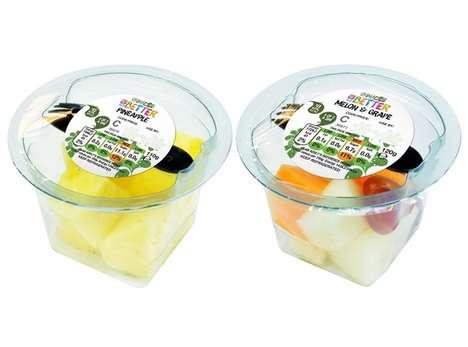 Convenient Prepackaged Fruit Snacks
