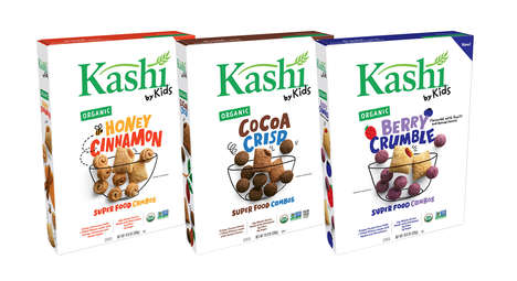 Organic Kid-Created Cereals - 'Kashi by Kids' Was Co-Created in Collaboration with Gen Z Leaders