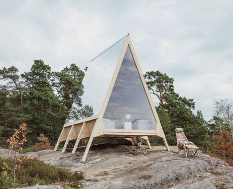 Sustainable Remote Living Cabins - Robin Falck's Nolla Cabin Uses Renewable Energy to Curb Emissions