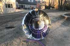 Fuel-Free Solar Cookers - The Dr. Solstice Parvati Solar Cooker Prepares Meals in a Sustainable Way
