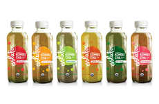 Hybrid Kombucha Drinks - Evolution Fresh's Beverages Combine Organic Kombucha & Cold-Pressed Juice