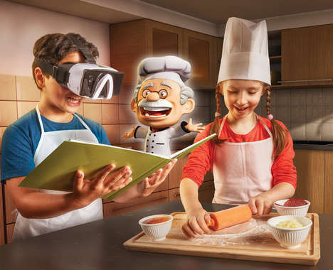 VR Cooking Toys - '4D Chef' Shares Interactive Recipes in Augmented and Virtual Reality