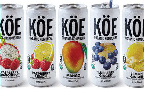 Probiotic-Packed Canned Kombuchas