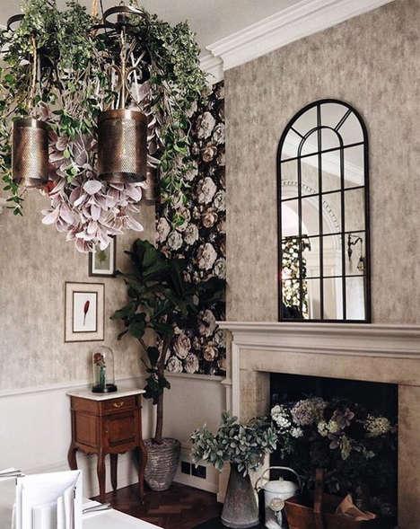 Flower-Themed Concept Bars