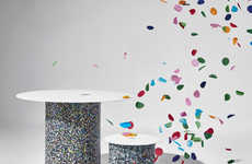Eco-Friendly Confetti Furniture