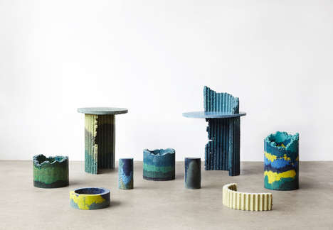 Colorfully Decorative Upcycled Objects