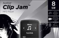 Wearable Dedicated MP3 Players