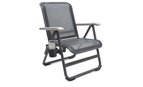 Durable Lightweight Outdoor Chairs - Yeti's Hondo Base Camp Chair Can Hold Up to 500lbs