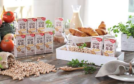 Heatable Protein-Enriched Soy Milks