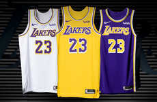 Updated Golden Basketball Jerseys