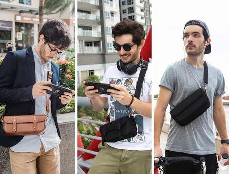Fashion-Forward Gamer Satchels - The Séfu Switch Bag Packs Your Nintendo Console and More