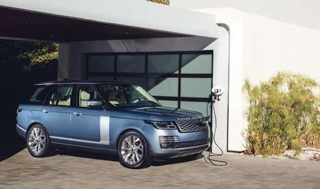 Luxury Plug-in Hybrid SUVs - The 2019 Range Rover P400e Offers 31 Miles of Electric Range