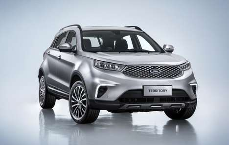 Midsize Asia-Only SUVs - The Ford Territory will be Exclusively Available for Drivers in China