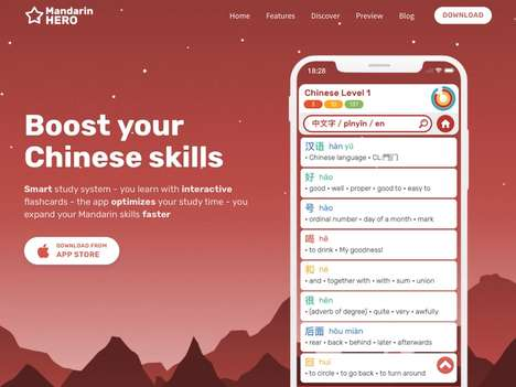 Optimized Language Education Apps - 'Mandarin Hero' Helps Users Quickly Improve Their Skills