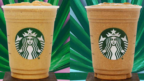 Plant Protein Coffee Beverages - The Starbucks Protein Blended Cold Brew Comes in Two Varieties