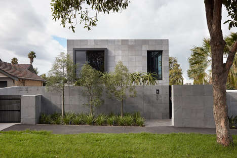 Brutalist-Inspired Bluestone Houses - Finnis Architects Embraces Contemporary Design in This Project