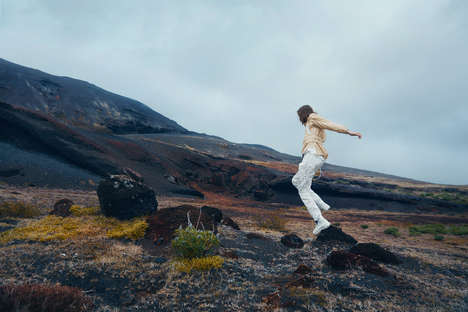 Location-Influenced High-Performance Apparel - Arnar Mar Jonsson's Line Takes Cues from Iceland
