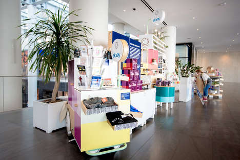 Entrepreneurial Concept Shops - eBay's 'The New Stand' Store Spotlights Innovative Small Businesses