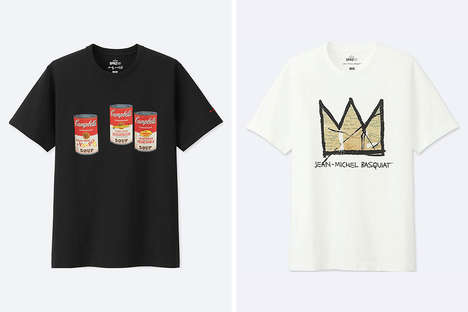 Artist-Inspired Casual Tees - Uniqlo Debuts Another Drop of Its Creativity-Forward SPRZN NY Project