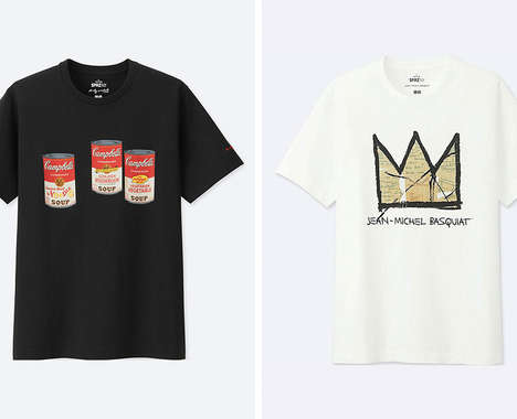 Artist-Inspired Casual Tees