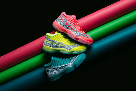 Highlighter-Themed Sneaker Packs